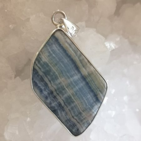 HQ Scheelite Healing Crystal Pendant by Mark Bajerski