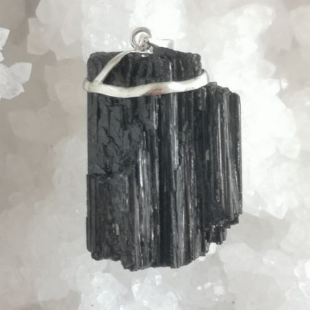 Large, Raw High Quality Black Tourmaline Healing Crystal by Mark Bajerski