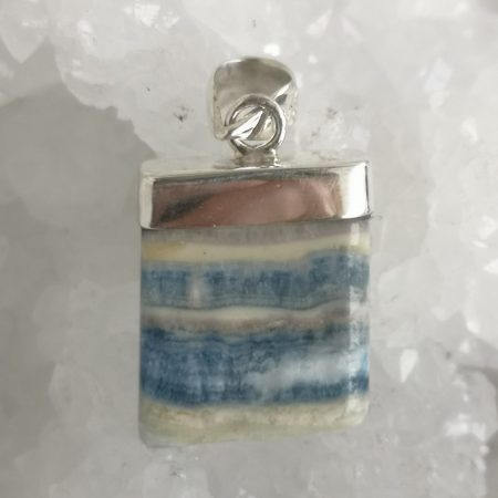 HQ Lapis Lace Crystal Pendant by Mark Bajerski