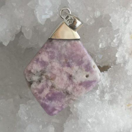 HQ Prairie Tanzanite Healing Crystal Pendant by Mark Bajerski