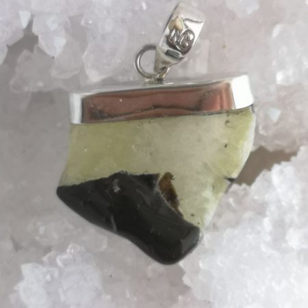 Brucite Healing Crystal Pendant by Mark Bajerski