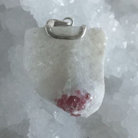 HQ Spinel Healing Crystal Pendant by Mark Bajerski