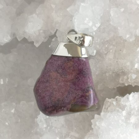 Stichtite Healing Crystal Pendant by Mark Bajerski