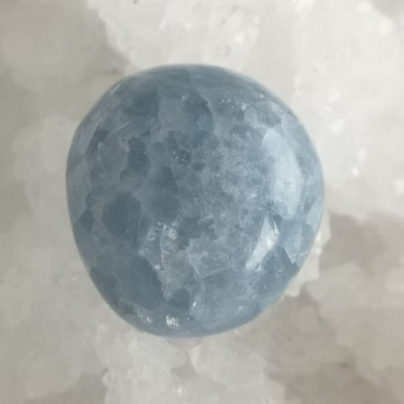 Blue Calcite Healing Crystal for Hand and Home
