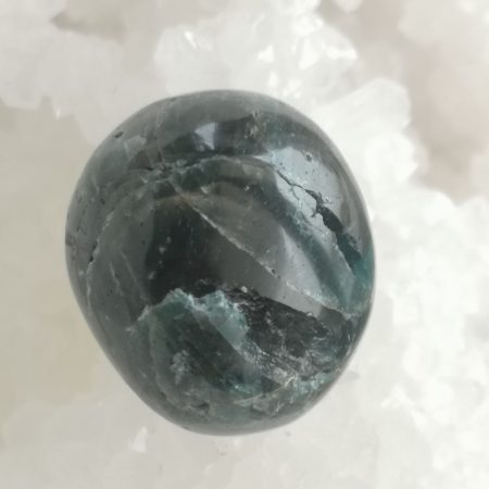 Green Apatite Hand and Home Healing Crystal