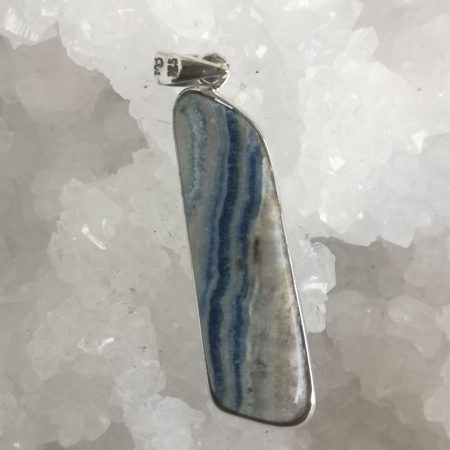 Lapis Lace Healing Crystal Pendant by Mark Bajerski