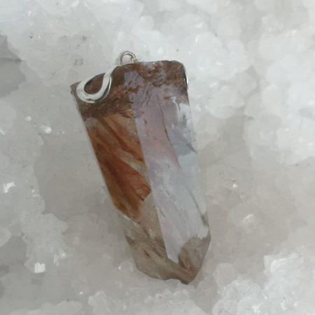 HQ Amphibole Healing Crystal Pendant by Mark Bajeski