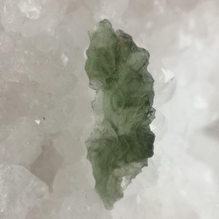 Moldavite AA Slice from Besednice 2.16 grams