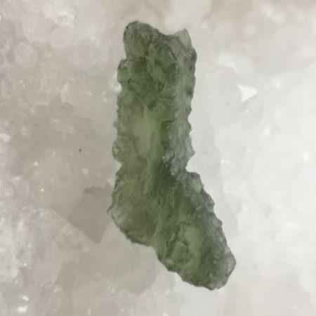 Moldavite AA Slice from Besednice 3.53 gms