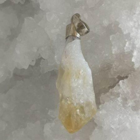 HQ Citrine Healing Crystal Pendant by Mark Bajerski