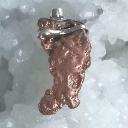 HQ Copper Healing Crystal Pendant by Mark Bajerski