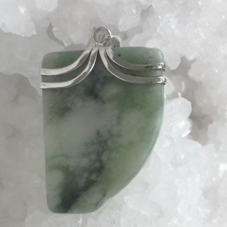 HQ New Jade Healing Crystal Pendant by Mark Bajerski