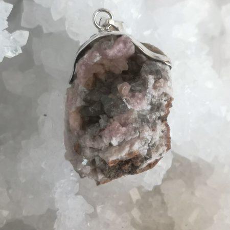 HQ Pink Amethyst Healing Crystal by Mark Bajerski