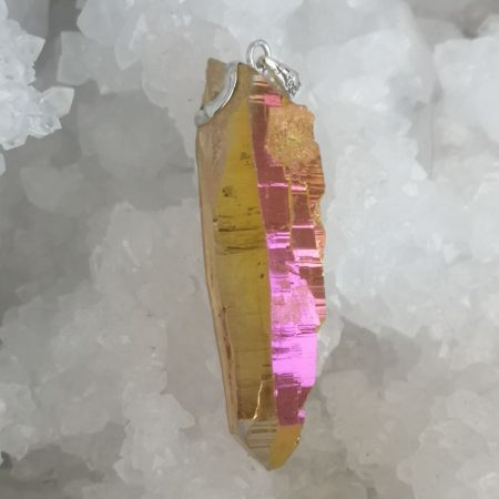 HQ Sunshine Aura Healing Pendant by Mark Bajerski