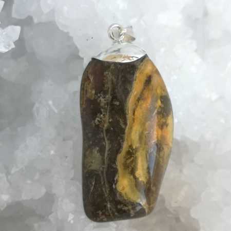 HQ Amber Healing Crystal by Mark Bajerski
