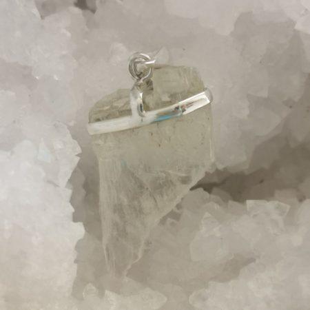 HQ Beryl Healing Crystal Pendant by Mark Bajerski