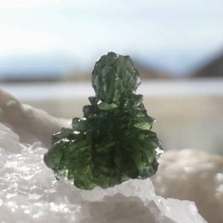 Museum Grade AAA Moldavite Besednice 4.22 grams