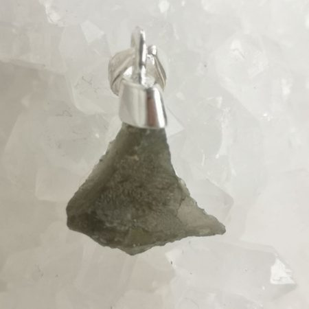Moldavite Pendant from Maly Chlum by Mark Bajerski
