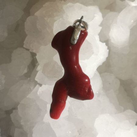 HQ Red Coral Healing Crystal by Mark Bajerski
