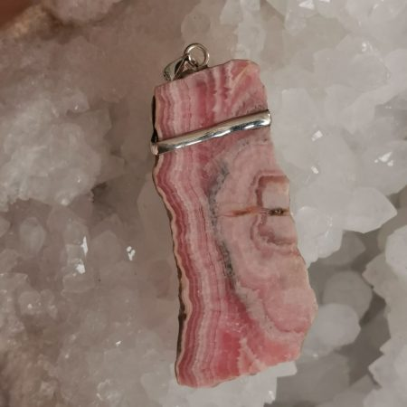 HQ Rhodochrosite Healing Crystal by Mark Bajerski