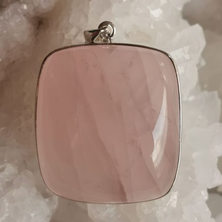 HQ Rose Quartz Healing Crystal by Mark Bajerski
