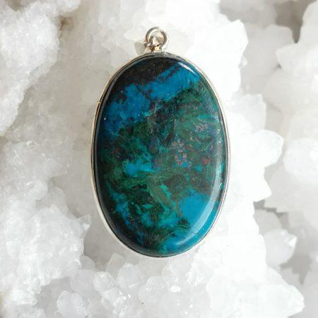 HQ Azurite Healing Crystal by Mark Bajerski