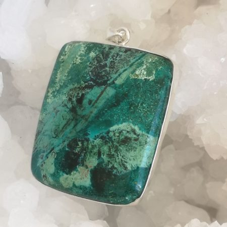 HQ Azurite Malachite Healing Crystal by Mark Bajerski
