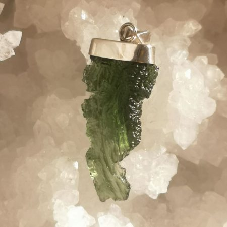 HQ Moldavite from Besednice by Mark Bajerski 7.24 grams