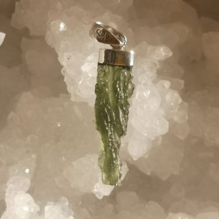 HQ Moldavite from Besednice by Mark Bajerski 3.22 grams