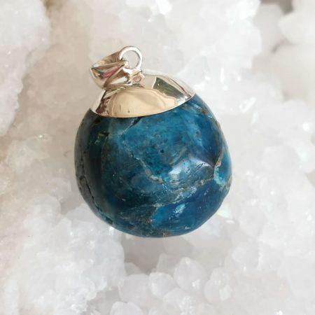 HQ Blue Apatite Healing Crystal By Mark Bajerski