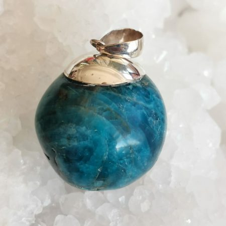 HQ Blue Apatite Healing Crystal by Mark Bajerski