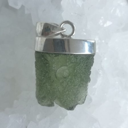 Moldavite from Maly Chlum by Mark Bajerski