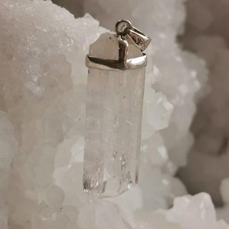 HQ Kunzite Healing Crystal by Mark Bajerski