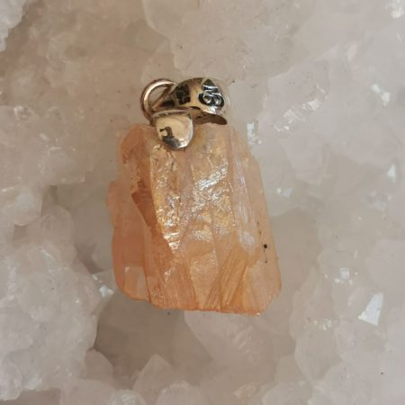 HQ Tangerine Aura Healing Crystal By Mark Bajerski