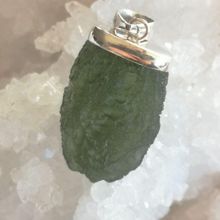 HQ Moldavite Grade AA from Maly Chlum by Mark Bajerski 6.26 grams