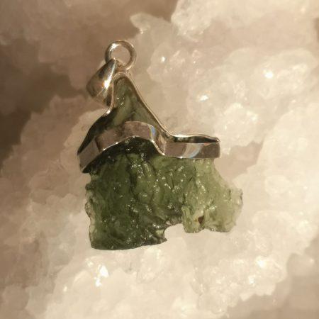 HQ Moldavite Grade AA from Maly Chlum by Mark Bajerski 4.78 grams