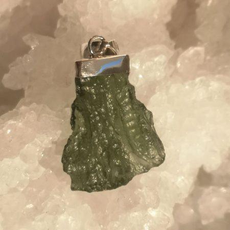 HQ Moldavite Grade AA from Maly Chlum by Mark Bajerski 4.09 grams