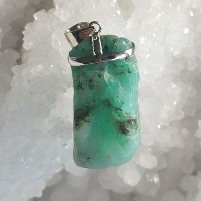 HQ Chrysoprase Healing Crystal by Mark Bajerski