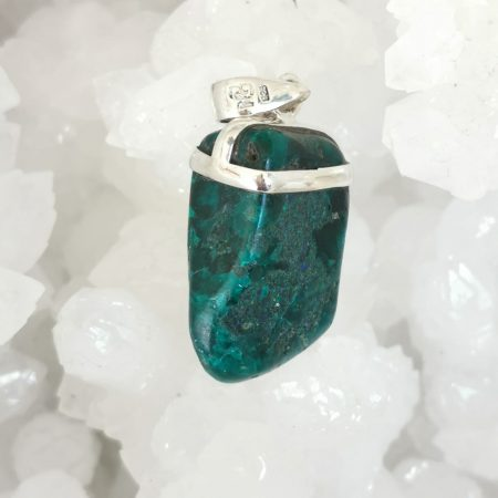 HQ Dioptase Healing Crystal by Mark Bajerski