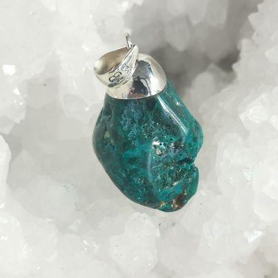 HQ Dioptase Healing Crystal by Mark Bajerski