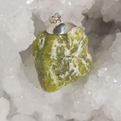 HQ Lizardite Healing Crystal by Mark Bajerski