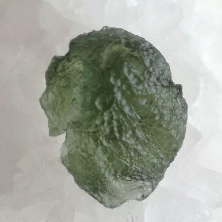 Moldavite Slice Grade AA Maly Chlum 3.52 grams