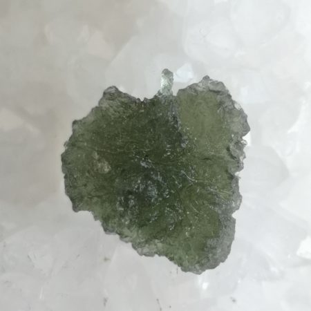 Moldavite Slice Grade AA Maly Chlum 3.18 grams