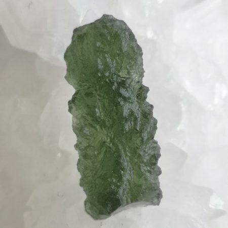 Moldavite Slice Grade AA Besednice 3.23 grams