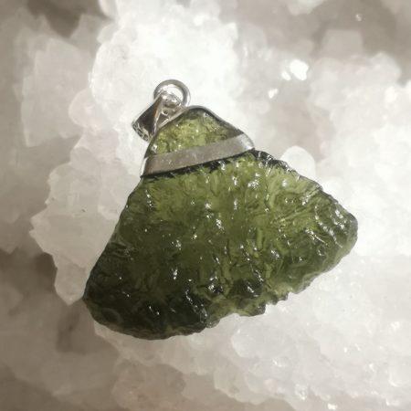 Moldavite from Maly Chlum by Mark Bajerski