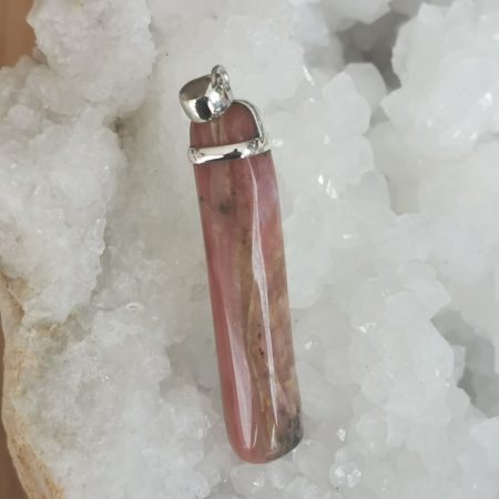 HQ Pink Opal Healing Crystal by Mark Bajerski