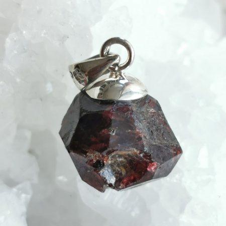 HQ Ruby Garnet Healing Crystal by Mark Bajerski