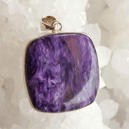 HQ Charoite Healing Crystal by Mark Bajerski