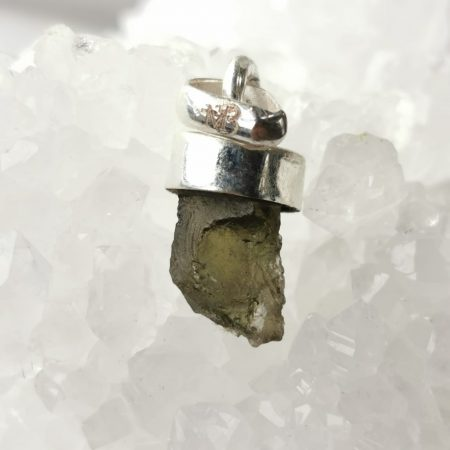 Moldavite Petite from Maly Chlum by Mark Bajerski