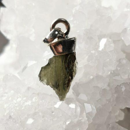 Moldavite Petite from Maly Chlum by Mark Bajerski